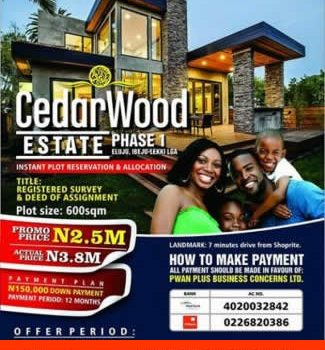 Cedarwood Estate Phase1