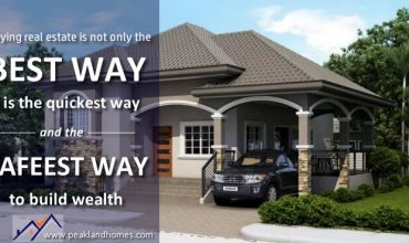 Real Estate - the safest way to build wealth