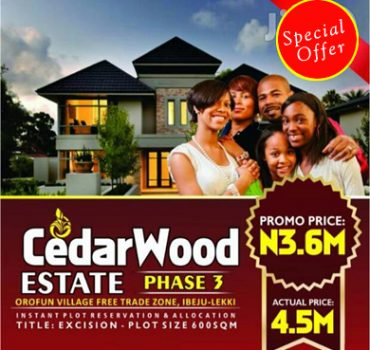 Cedarwood Estate Phase3