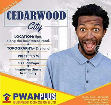 Cedarwood City Epe Lagos